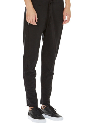 Drapey Terry Jersey Track Pant