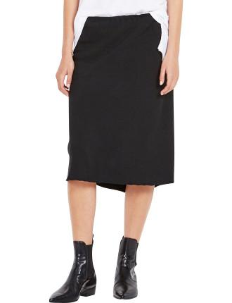 Crepe Paper Bag Skirt
