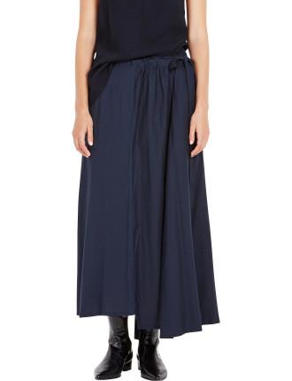 Viscose Asymmetric Skirt