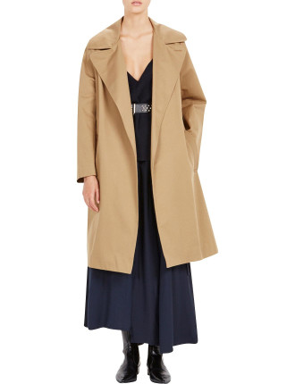 Drill Trench Coat