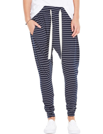 Stripe Slouch Jersey Pant