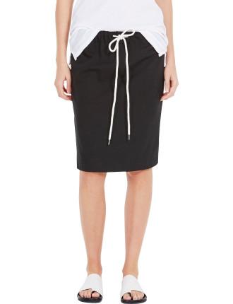 Stretch Elastic Waist Skirt