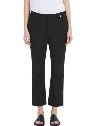 Stretch Pique Bandless Pant