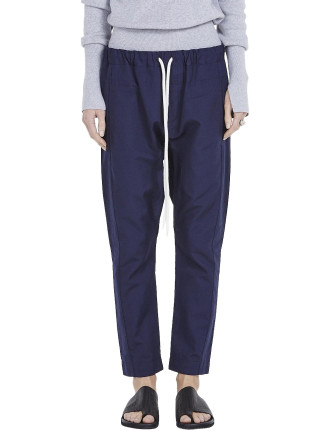 Cotton Slub Relaxed Pant Ii