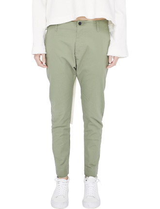 Stretch Cotton Minimal Pant