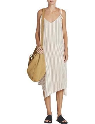 Shoestring Slip Dress