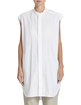 Sleeveless Longerline Shirt