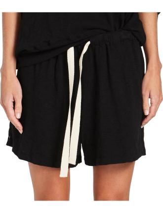 Slub Jersey Mini Short