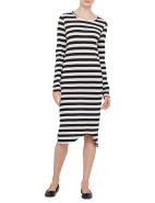 Long Sleeve Stripe T-Shirt Dress $140.00
