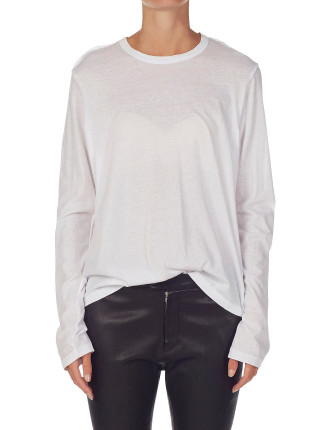 French Seam Tee With Tail