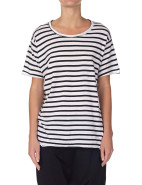 Stripe Heritage Neck T-Shirt $100.00