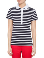 Short Sleeve Stripe Polo $44.98