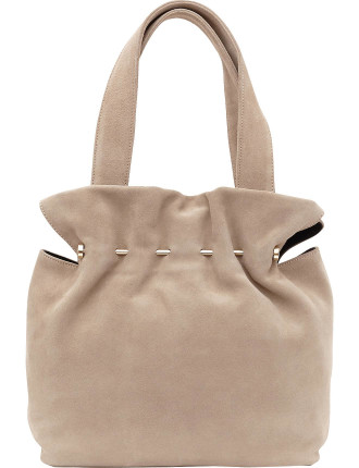 Cassius Suede And Metal Tote