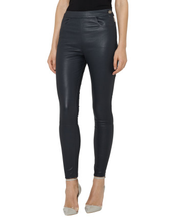 Vine-Leather Trouser