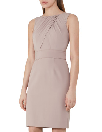 Benoit-Fitted Day Dress
