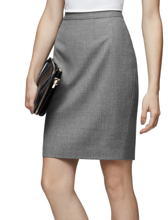 AUSTIN-TAILORED SKIRT