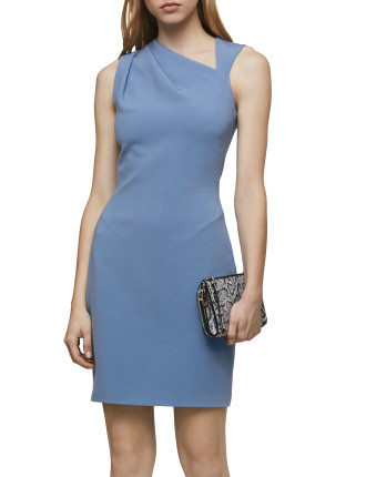 KATERINA-V NECK BODYCON DRESS