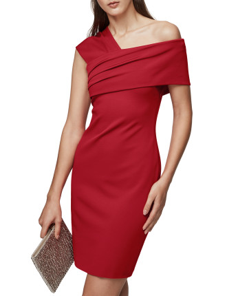 CRISTIANA-ONE SHOULDER COCKTAIL DRESS