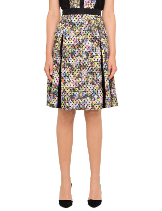 Warley Pleated Skirt