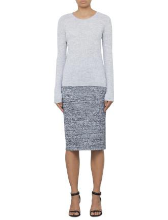 Neelida Marl Knit Skirt