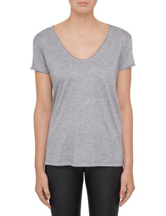 Cotton Cashmere Jersey T-Shirt