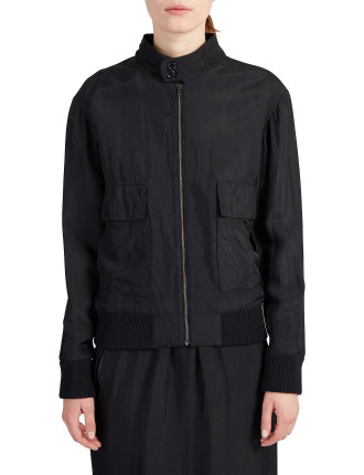 Carlo Soft Viscose Bomber Jacket