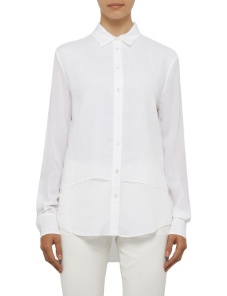 Gracie Linen Double Layer Shirt
