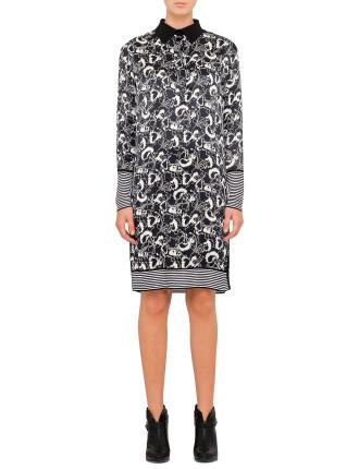Anita Print Dress