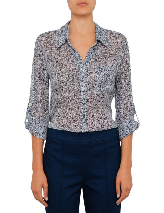 Lorelei Polka Dot Shirt