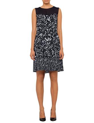 Ronsard Print Dress