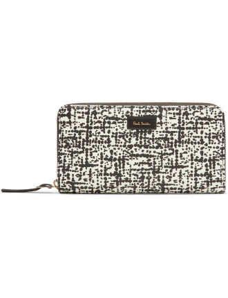 Women Wallet Large Zip