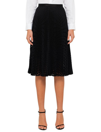 Womens Spotted Skirt