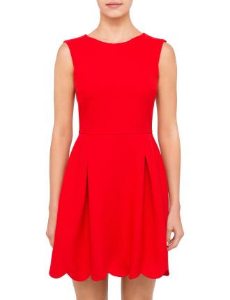Ravissante Scalloped Dress