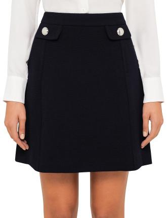 Selma Minskirt With Buttons
