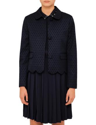 Versailles Polka Dot Jacket