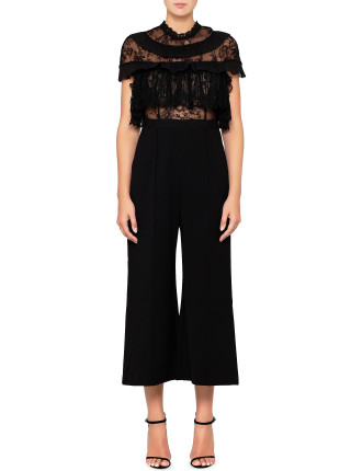 fine lace jumpsuit
