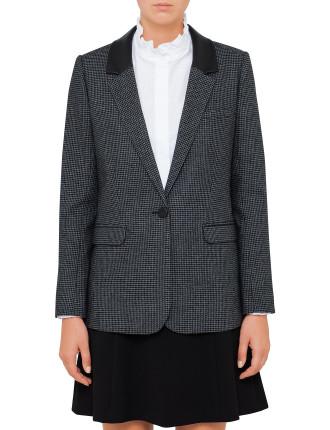 Verveine Check Jacket