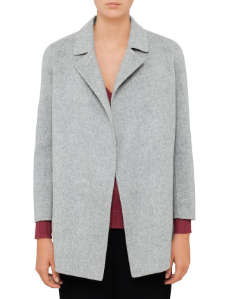 Clairene Double Faced Wool Pea Coat