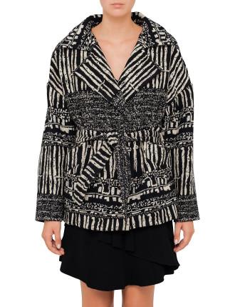 Nattya Print Jacket