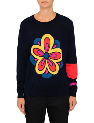 INSTARSIA FLOWER KNIT