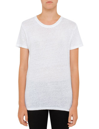 Luciana Linen T-Shirt