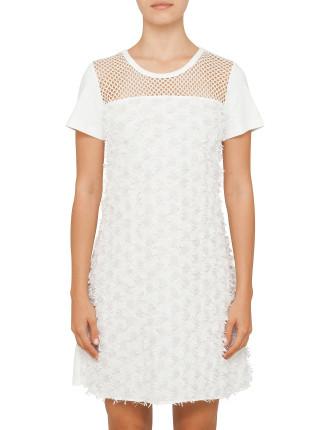 Embellished Daisy T-Shirt Dress