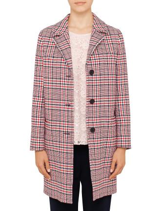 Giant Check Coat