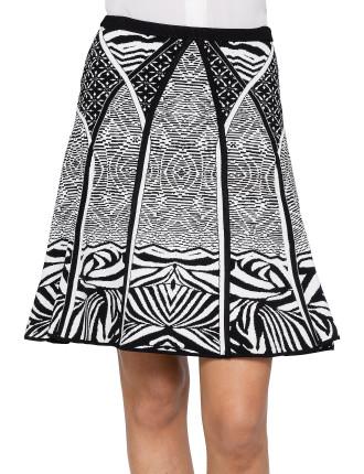 Samara Fit And Flare Skirt