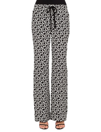 Mini Abstract Jacquard Pyjama Trouser