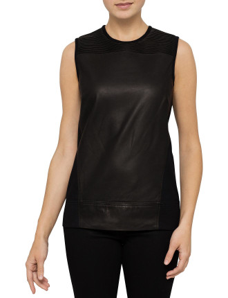 Ink Leather 2 Top