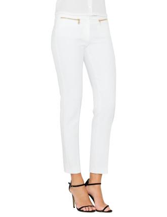 Slim Pant With Hip Detail