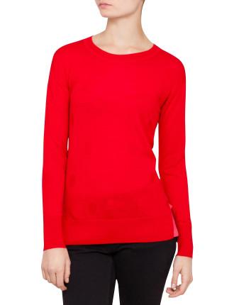 Red Spot Knit