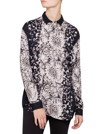 Photographic Floral Shirt