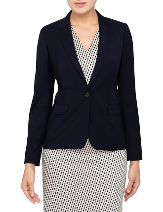 Classic One Button Jacket